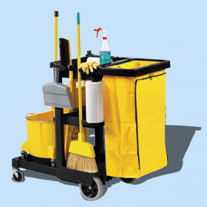 CLEANING CARTS & TOOLS