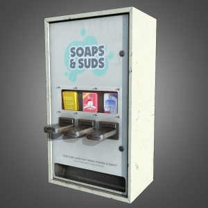LAUNDRY SOAP VENDING MACHINES & PRODUCTS